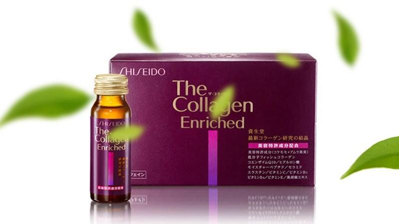 Nước uống Collagen Shiseido Enriched (Hộp 10 chai x 50ml)