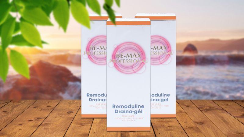 Gel massage tan mỡ Be-Max Remoduline Draina 200g