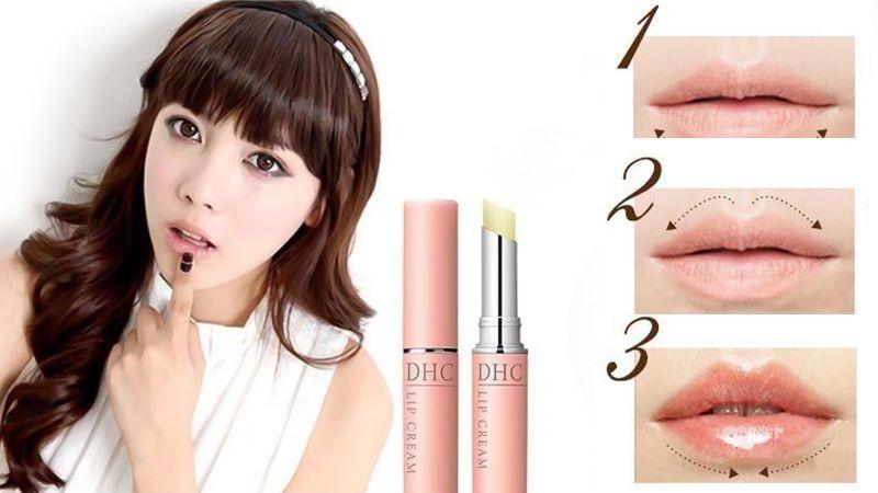 Son dưỡng ẩm môi DHC Lip Cream 1.5g