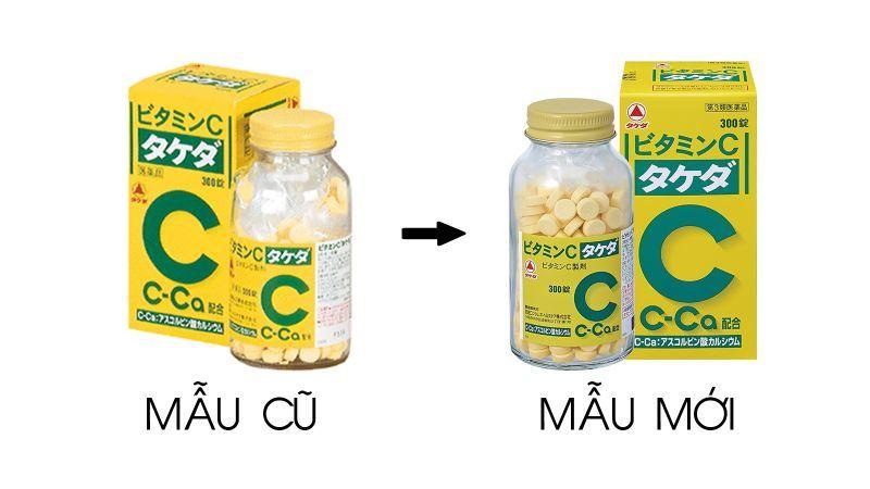 viên uống trị nám trắng da Vitamin C Takeda 2000mg