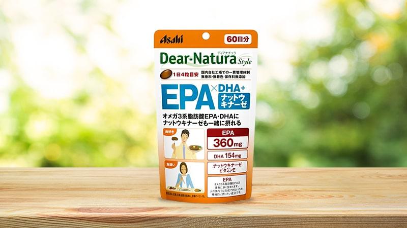 Viên uống bổ não Asahi Dear Natura  240 viên