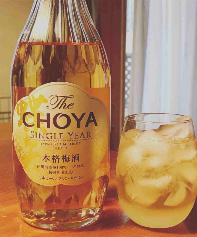 Rượu mơ Choya Single Year 720ml