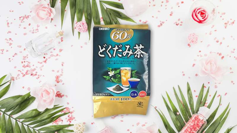 trà diếp cá thải độc Dokudami Orihiro 60 gói