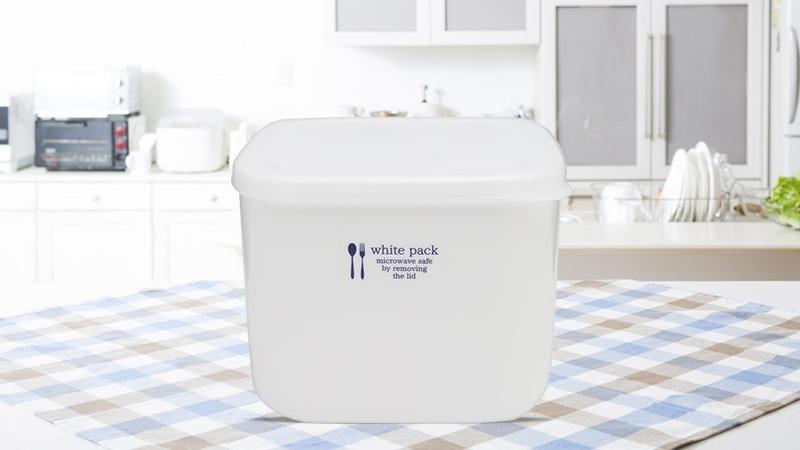 Hộp nhựa đựng thực phẩm White Pack Nhật Bản 1L