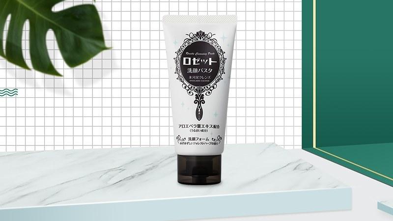 Sữa rửa mặt dưỡng ẩm Rosette Face Wash Pasta Glacial Clay Cleanser 120g