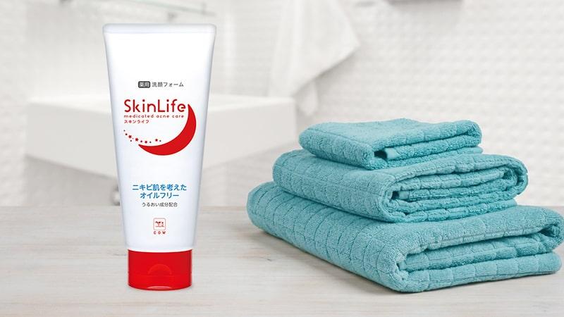 """Kết quả hình ảnh cho Sữa rửa mặt ngăn ngừa mụn Skin Life 130g (dạng tuýp)"""""""