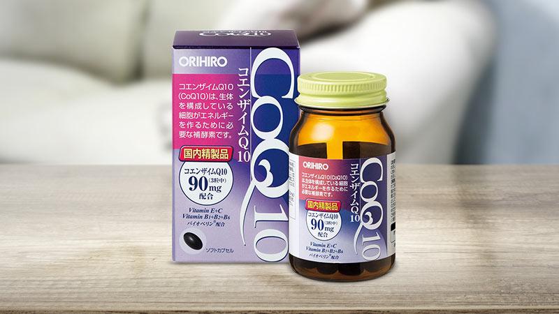 Viên uống đẹp da Co Q10 Orihiro 90 viên