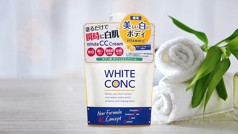 Sữa dưỡng thể làm trắng da White Conc Body CC Cream