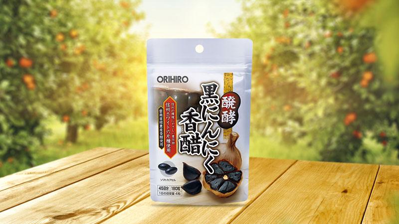 Viên uống tỏi đen Orihiro Nhật Bản 180 viên