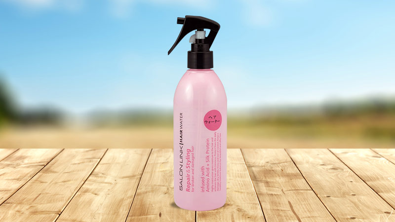 Xịt tạo kiểu tóc chứa tinh dầu dưỡng Kumano Salon Link 300ml