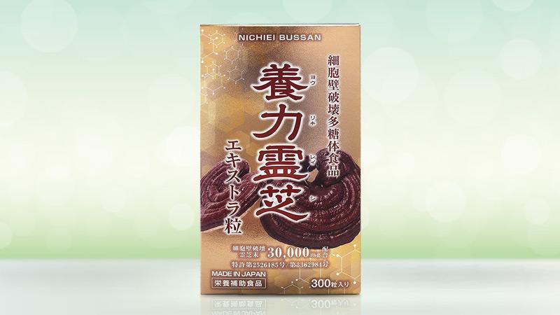 Nấm linh chi đỏ Nichiei Bussan Nourishing Reishi 300 viên