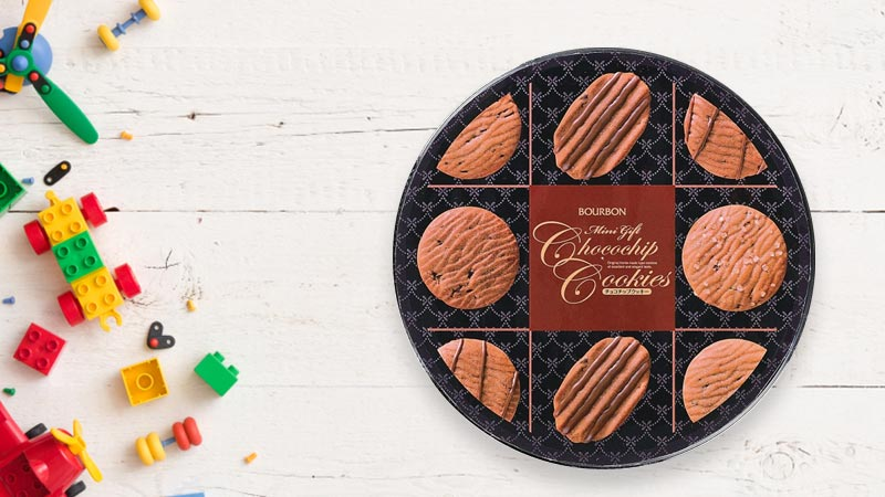 Bánh quy socola Bourbon Choco Chip Cookies 60 cái