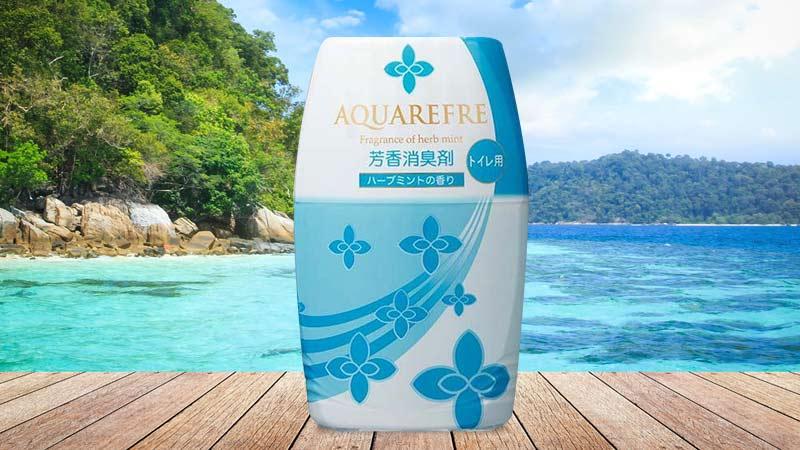 Hộp khử mùi Lion Chemical Aqua Refre 400ml (Hương bạc hà)