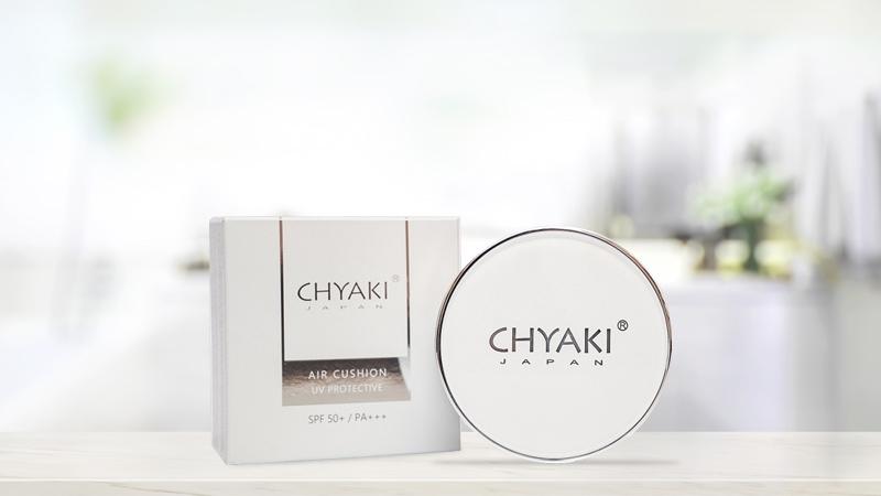 Phấn tươi Chyaki Air Cushion UV Protective SPF 50+/PA+++ 15g