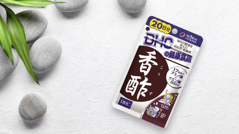 Viên uống giấm đen DHC Nhật Bản 60 viên