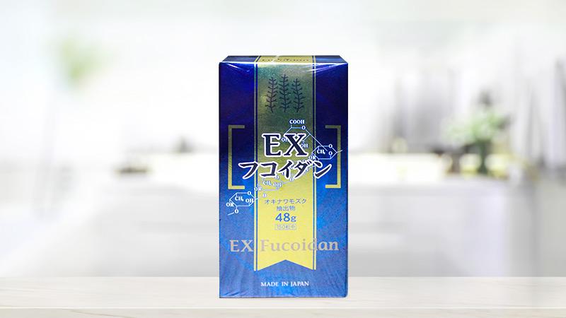 Viên uống hỗ trợ điều trị ung thư Kanehide Bio Fucoidan EX 150 viên