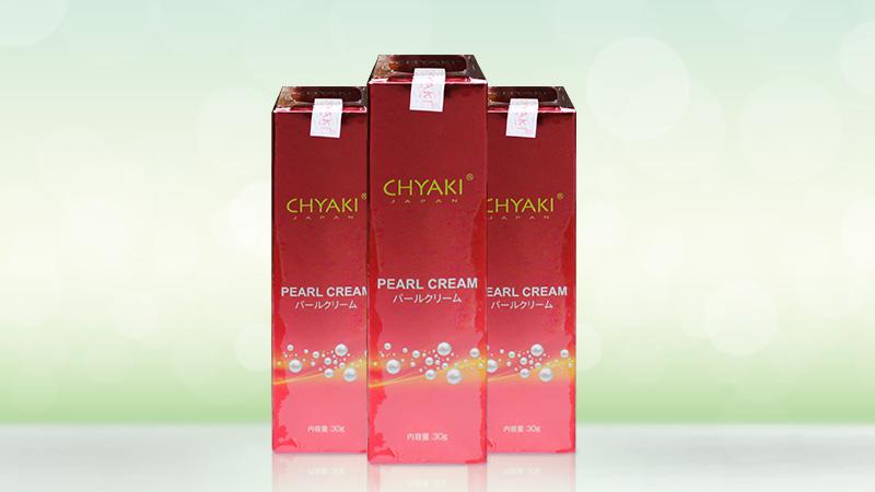 Kem dưỡng sáng và chống nắng Chyaki Pearl Cream 30g