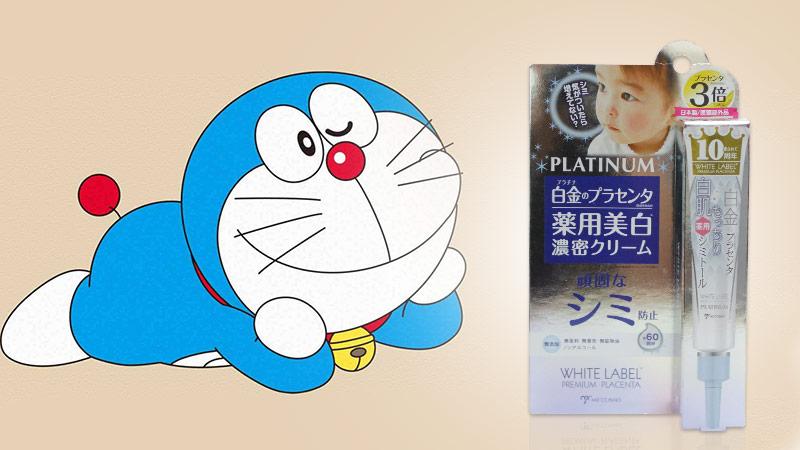 Kem dưỡng trắng giảm thâm nám White Label Platinum Placenta Whitening 20g