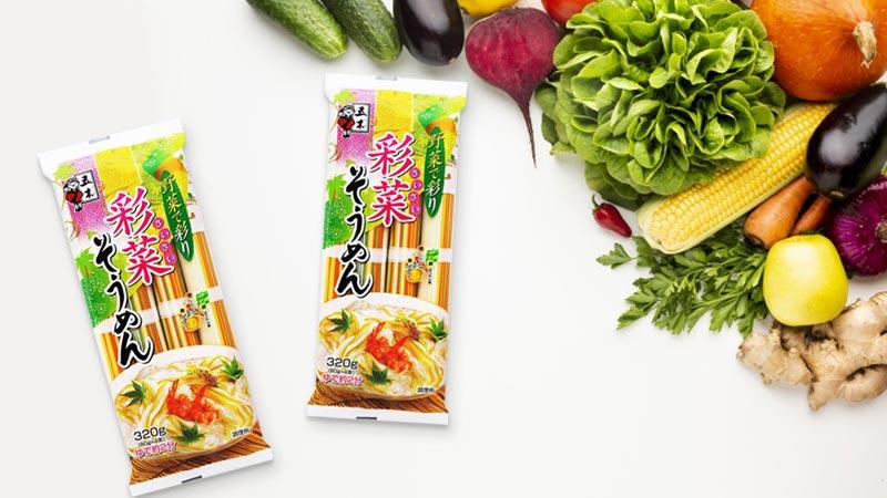Mì Somen rau củ Itsuki Foods 320g