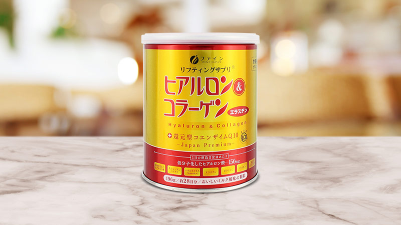 Bột Collagen Fine Japan Hyaluron CoQ10 5.250mg 196g