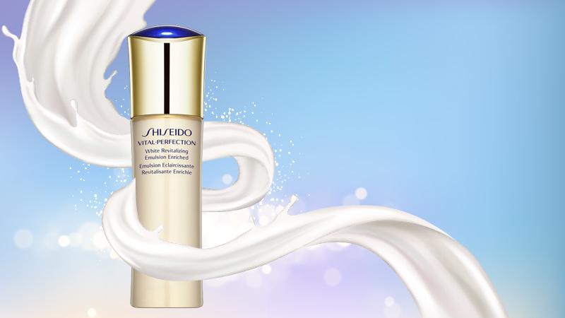 Sữa dưỡng ẩm Shiseido Vital Perfection White Revitalizing Emulsion 100ml