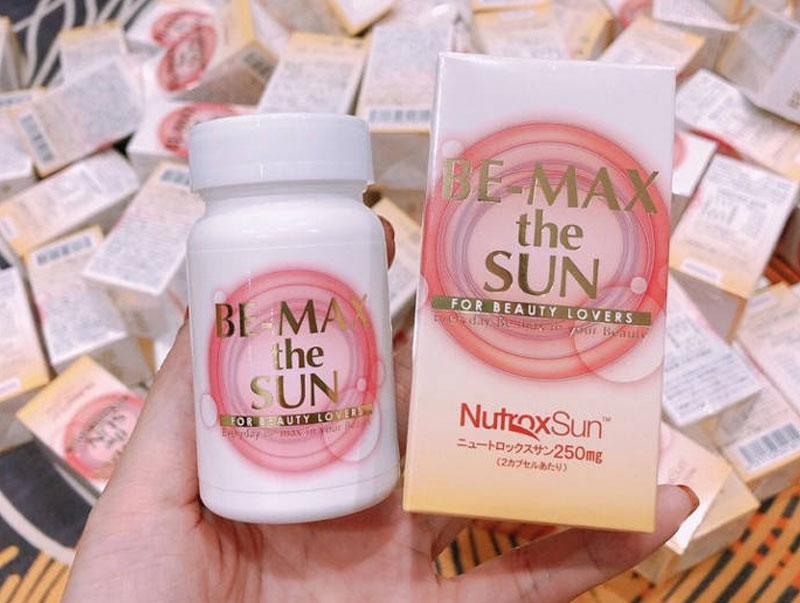 Viên uống chống nắng Be-Max The Sun 30 viên (Nội Địa)