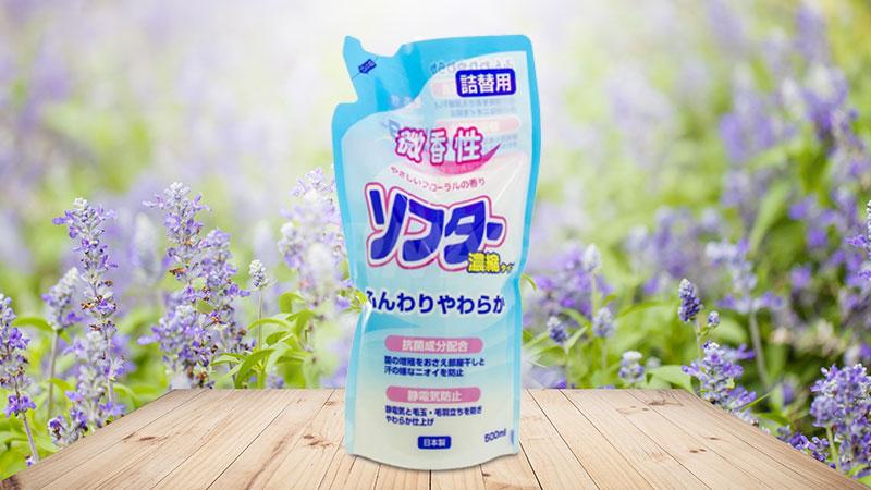 Nước xả làm mềm vải và kháng khuẩn 500ml Daiichi