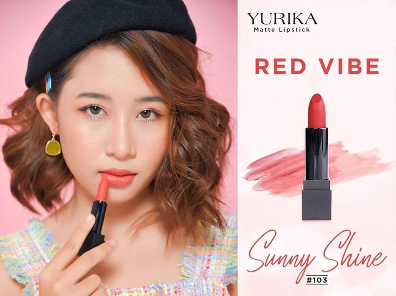 Son môi Yurika Matte Lipstick 3g