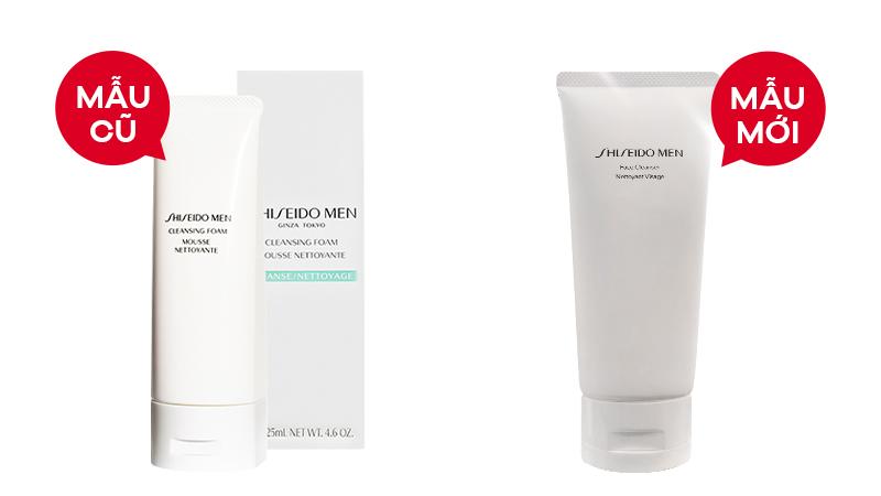 Sữa rửa mặt cho nam Shiseido Men Cleansing Foam 125ml