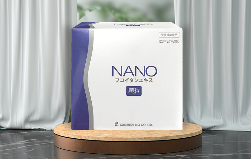 Thực phẩm hỗ trợ điều trị ung thư Nano Fucoidan Extract Granule (Hộp 2g x 60 gói)