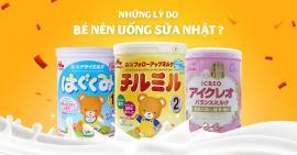 Sự khác biệt của sữa Nhật Bản nội địa và xuất khẩu