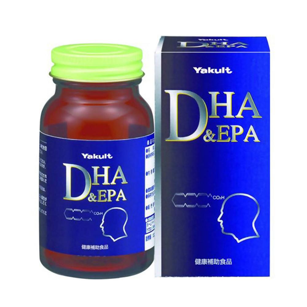 Viên uống bổ não DHA & EPA Yakult 120 viên