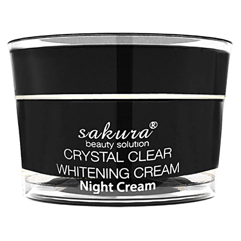 Kem trị nám trắng da ban đêm Sakura Whitening Night Cream 30g