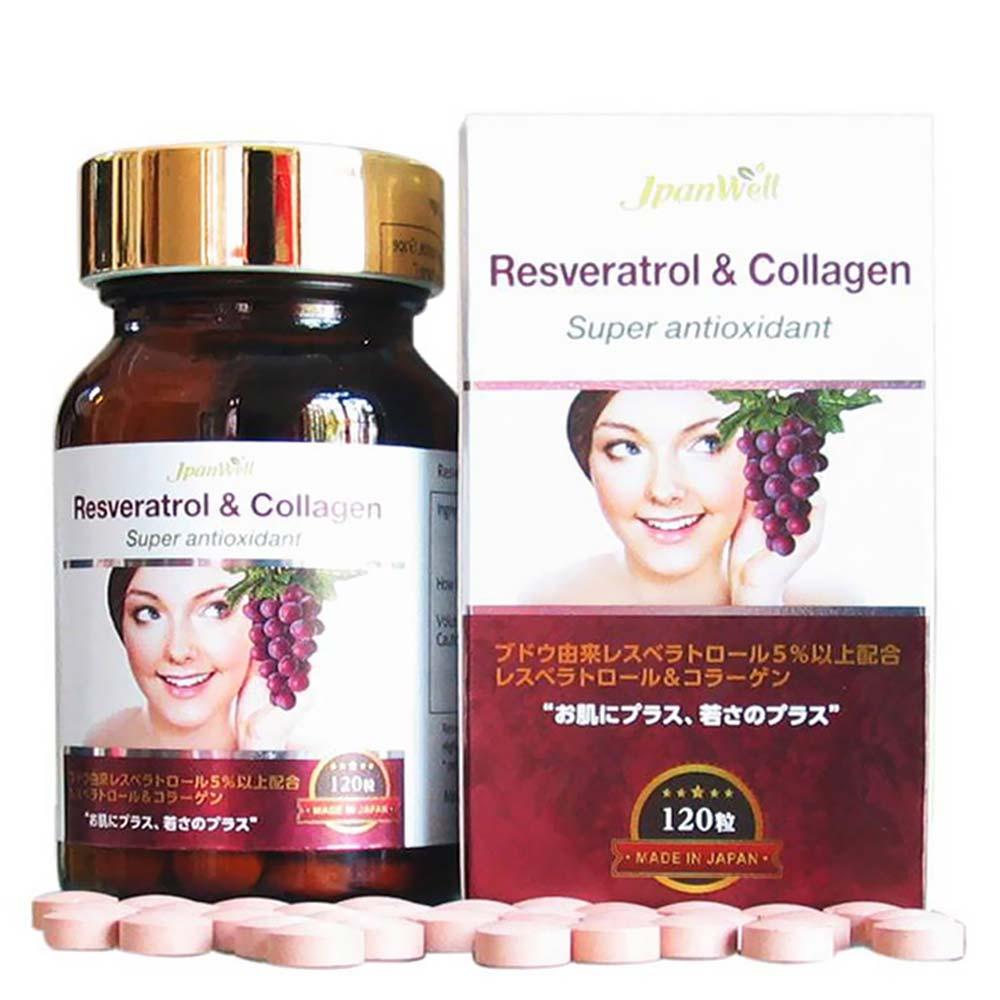 Viên uống Resveratrol & Collagen
