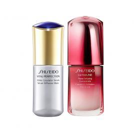 Combo Tinh Chất Shiseido Ultimune Power 30ml và Shiseido Vital Perfection 40ml