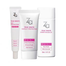 Bộ 3 kem chống nắng trắng da ZA
