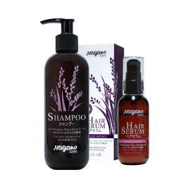 Combo dầu gội và serum dưỡng bóng tóc Nagano