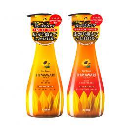 Bộ đôi dầu gội và dầu xả phục hồi, giàu dưỡng chất Himawari 500ml