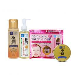 Bộ 4 sản phẩm dưỡng da hoàn hảo Hada Labo Gokujyun