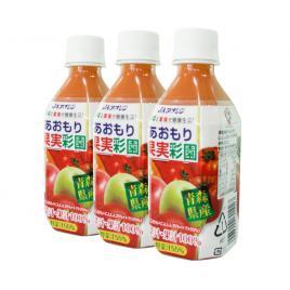 Combo 3 chai nước ép hỗn hợp táo, cà rốt và cà chua 100% Ja Aoren 280ml