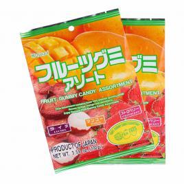 Combo 2 gói kẹo dẻo thập cẩm Kasugai (102g)