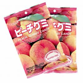 Combo 2 gói kẹo dẻo vị đào Kasugai (107g)