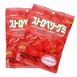 Combo 2 gói kẹo dẻo vị dâu Kasugai (107g)