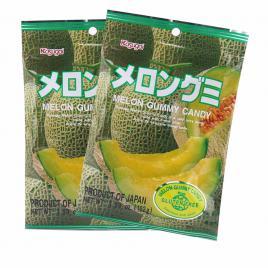 Combo 2 gói kẹo dẻo vị dưa lưới Kasugai (102g)