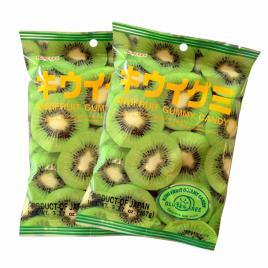 Combo 2 gói kẹo dẻo vị kiwi Kasugai (107g)