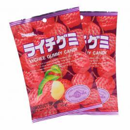 Combo 2 gói kẹo dẻo vị vải Kasugai (102g)