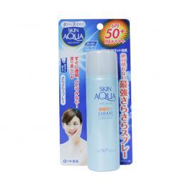 Xịt khoáng chống nắng Rohto Skin Aqua Sara-Fit UV Spray Fragrance Free 50g