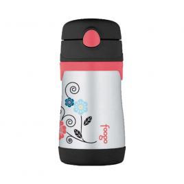 Bình nước giữ nhiệt có ống hút BS-535