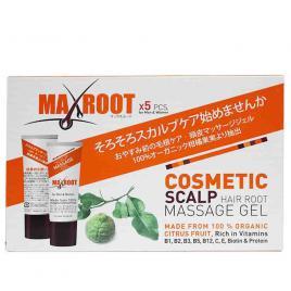 Gel kích thích mọc tóc MaxRoot Cosmetic Scalp Hair Root Massage (Hộp 5 tuýp x 10g)