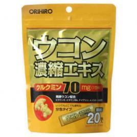 Bột nghệ giải rượu Orihiro (Hộp 20 gói x 1.5g)